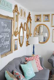 Gallery For Gt Light Blue And Gold Bedroom by Gold Gallery Wall
