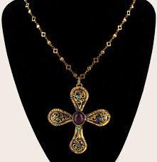 gold byzantine cross necklace images Byzantine cross pendant necklace arabella concepts jpg