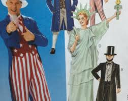 Statue Liberty Halloween Costume Uncle Sam Costume Etsy