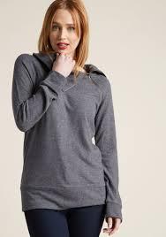 sweater in stay inn sweater in grey modcloth