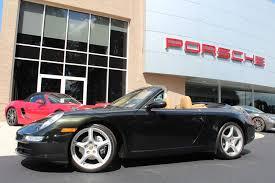 porsche 911 olive green dealer inventory 2006 porsche 911 cabriolet dark olive metallic