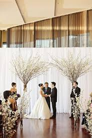 wedding backdrop chagne diy indoor wedding ceremony decorations daveyard 2e56f5f271f2