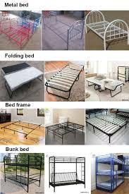 durable metal folding cot double rollaway bed queen size buy