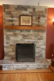 peachy reclaimed wood mantel shelf brick fireplace fireplace