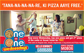 dominos pizza wednesday offer pizza india