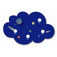 deckenle kinderzimmer waldi deckenleuchte wolke weltall blau 4 flg 4x9w e14