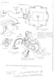 hei wiring diagram accel distributor noticeable chevy 350 cap
