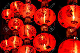 lunar new year lanterns lanterns for new year in stock photo picture