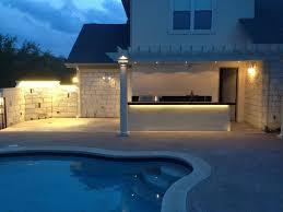 backyard fence led lights pictures on charming backyard led