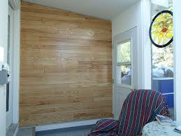 feature wall from salvaged hardwood flooring 4 steps with pictures