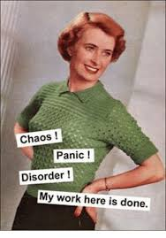 My Work Here Is Done Meme - chaos panic disorder my work here is done meme on me me