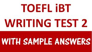 sample toefl essay toefl ibt writing test 2 with sample answers youtube toefl ibt writing test 2 with sample answers