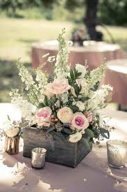 simple centerpieces the images collection of flower best rustic table