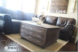 Pottery Barn Inspired Furniture Check Out My Awesome Diy Coffee Table On Wheels Shanty 2 Chic