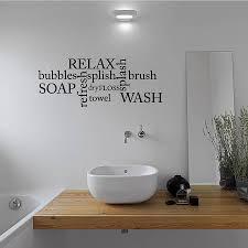 Ideas For Bathroom Wall Decor 1000 Ideas About Bathroom Wall Decals On Pinterest Bathroom