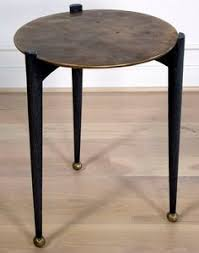 Bronze Accent Table Found The Stone Version Do They Make This In A Dining Table