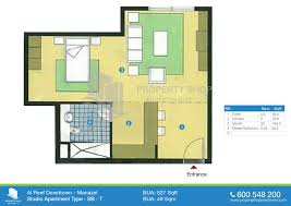 floor plan of al reef downtown al reef village