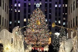 big christmas tree nyc christmas lights decoration