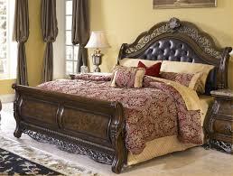 bedroom design elegant alaskan king bed with upholstered