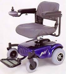 Motorized Pool Chair Electric Collapsible Lightweight Wheel Chair Rental