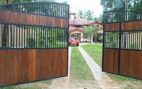 Swing Gates Designer Roller Door Swing Gates Sliding Gates