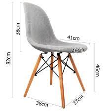 retro replica eames eiffel chairs x 2 metal frame chairs