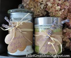 bathroom gift ideas of great ideas diy lavender bath salt easy gifts on a budget