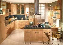 cuisine en bois gris ilot cuisine bois cuisine bois ilot central 87 toulon 02072153