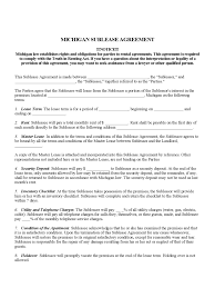 end of lease letter to landlord template michigan rent and lease template free templates in pdf word michigan sublease agreement