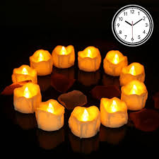 6 hour tea lights flameless candles