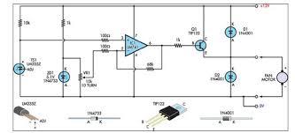 junk box fan speed controller lm335 circuit diagram world