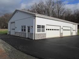Pole Barn Pa Garage Pole Building In Leesport Pa Sk Construction