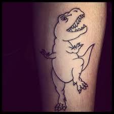 fat dinosaur tattoo tattoomagz