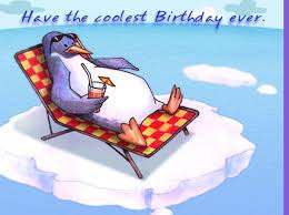 myfuncards penguin birthday send free birthday ecards