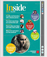 awesome digital magazine templates for tablets 56pixels com