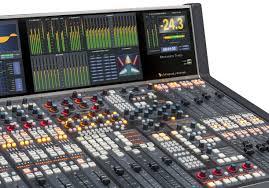 ip television audio consoles dimension three dimension three touch