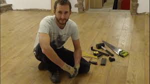 Fitting Laminate Floor How To Install Laminate Flooring Laminate Floor Installation Made