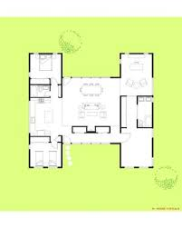 the u0027h u0027 house 1 story modern modular u2014 trillium architects
