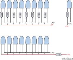sickmods case modding u003e led wiring guide