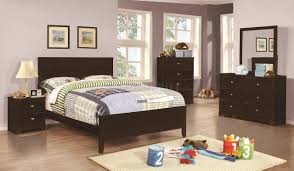 Kids Twin Bedroom Sets 400771 Ashton Kids Bedroom 4pc Set In Cappuccino By Coaster