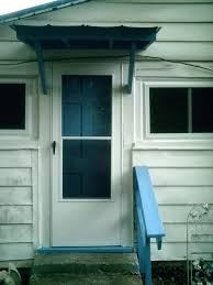 Wood Awning Design Front Doors Outstanding Front Door Canopy Glass For Great Looking