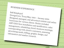 I Want To Make My Resume Online by 7 Ways To Make A Resume Wikihow