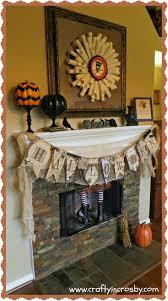 crafty in crosby halloween mantel 2013
