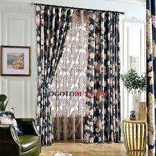Blue Floral Curtains Black Floral Curtains Floral Curtain Grey Floral Blackout Curtains