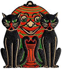 Vintage Halloween Decorations 23 Best Something Evil U0027s Lurking Images On Pinterest Happy