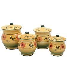 ack kitchen canister sets ebay