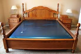 home interiors and gifts framed size waterbed frame waterbed frame king size waterbed with oak