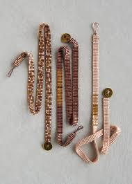 beaded woven bracelet images Woven beaded bracelets purl soho jpg