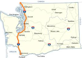 map of oregon i 5 wsdot i 5 map
