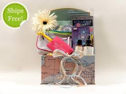 gift baskets for women world travel gift basket for women